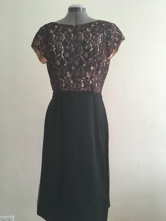 1950 wiggle dress - image 2