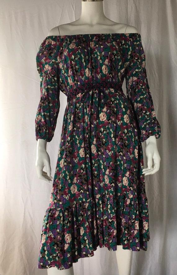 1960 Bohemian beauty dress