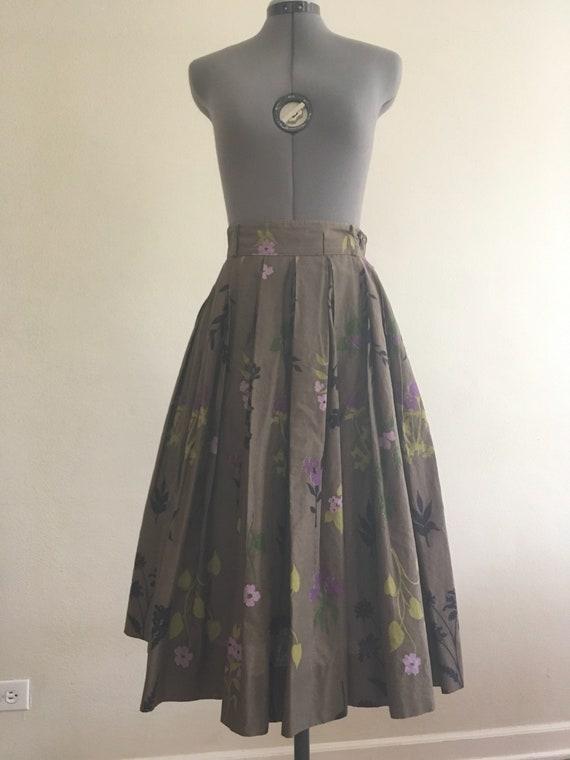 1950 circle skirt