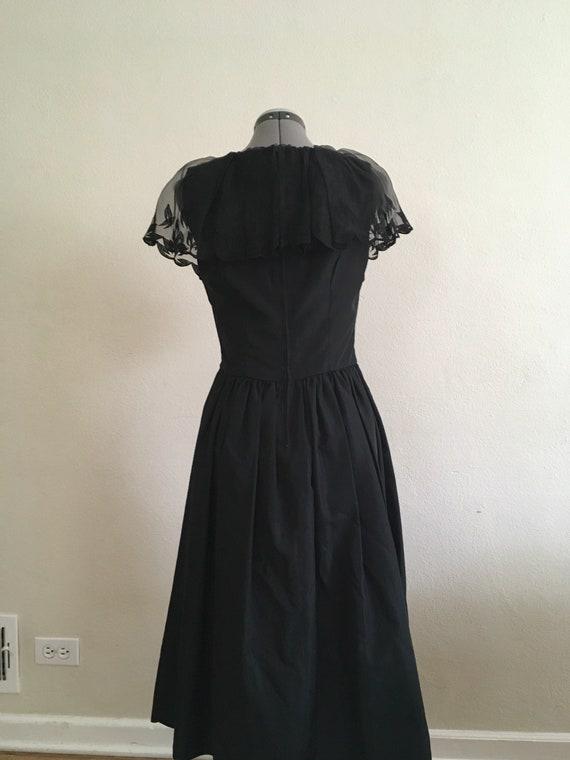 Little black 1970 dress - image 5