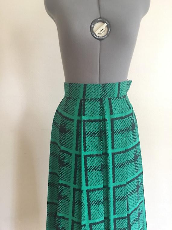 Jaeger silk skirt 1980