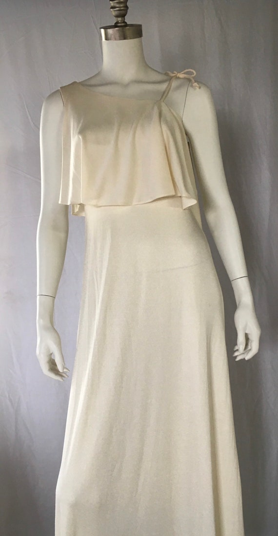 1970 greek goddess dress