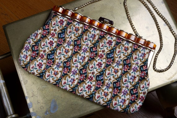 Tapestry Bag Lucite