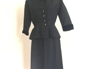 1940 R K original silk suit.