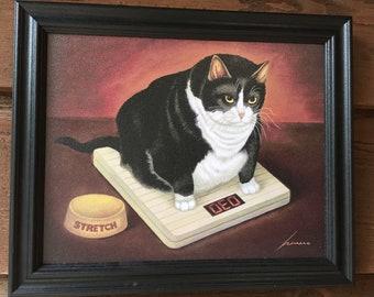 Cat Kitchen Decor Etsy