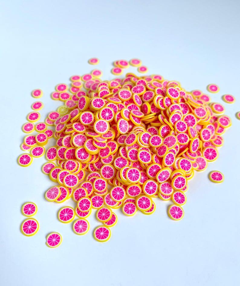Epoxy Resin Resin Art UV Resin DIY Craft Supplies Miniature Clay Grapefruit Slices Fruit Slices