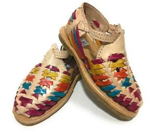 f1749142b1b9fe Kids Authentic Mexican Huarache Sandals