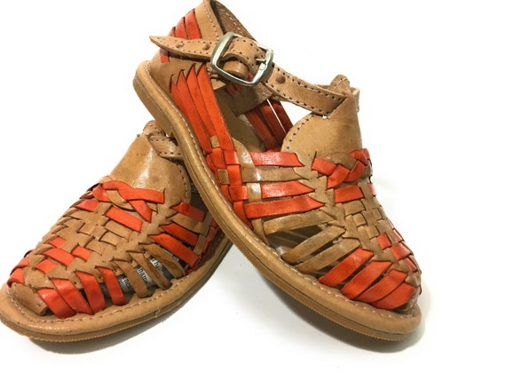 77e992f79e69 Kids Authentic Mexican Huarache Sandals