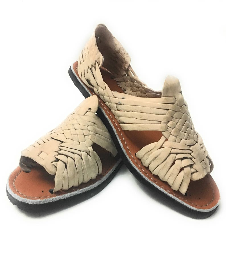 3864eeb6eb40d Original Mexican Huarache sandals. Handmade leather sandals.