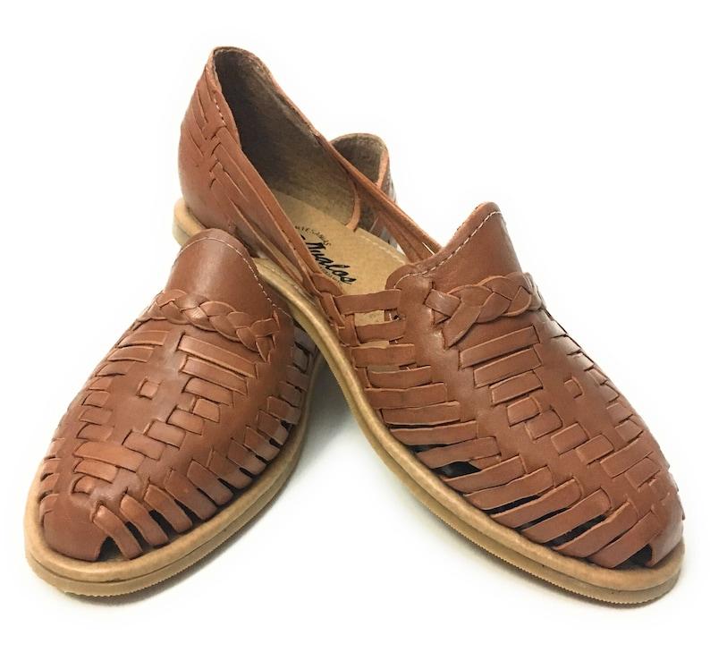 b9e78ae94f4 Original Mexican huaraches sandals . Women s leather