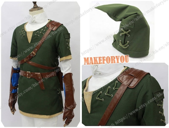 Men\'s legend of zelda twilight princess link cosplay | Etsy