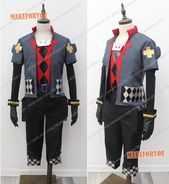 Kingdom Hearts 3 Sora Men Cosplay Costume Comic Con Outfit