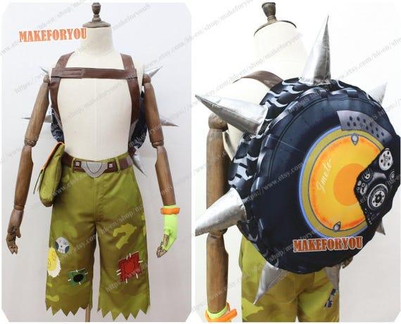 Unisex's OW Junkrat Cosplay bag only bag PLYWf