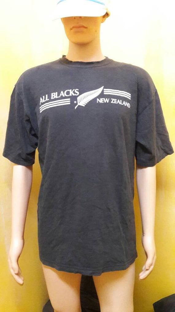 chemise de t tous les noirs ADIDAS Vintage