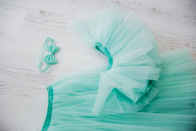 first birthday party Mint matching tutu skirt  Mommy And Me 1st birthday mother and daughter mint skirts mint matching outfit