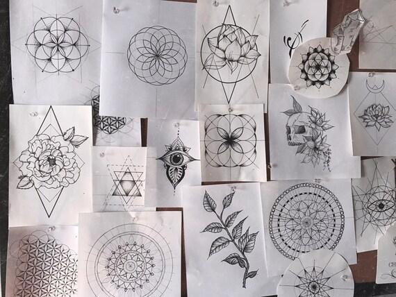 Tattoo Design Inquiry Etsy