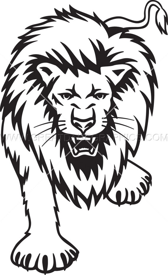 Lion Svg Lion Vector Lion File For Cricut Svg Files For Etsy