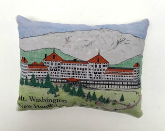 Mt. Washington NH, Bretton Woods NH, Hiking in New Hampshire, Vacation in NH, balsam filled sachet, balsam pillow, Bunny Boogie, Handmade