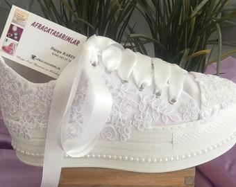 Wedding Shoes, Wedding Shoes Low Heel, Patform Shoes, Bridal Converse, Wedding Heels, Women's Wedding Shoes, Brides Shoes, Weddings