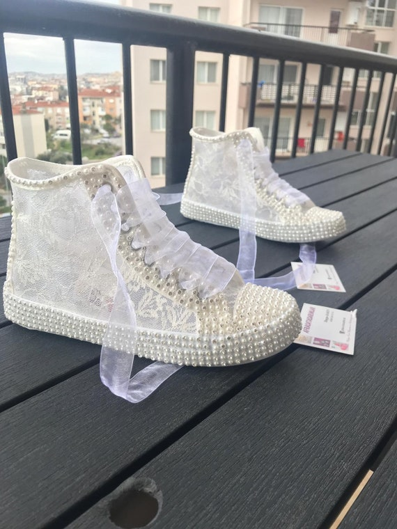 Wedding Shoes Lace Shoes Bridal Shoes Women S Wedding Etsy
