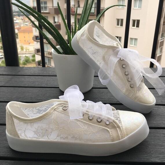 Lace Sports ShoesBridal Shoes Wedding