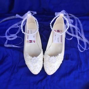 Weddings Flat Wedding Shoes Lace Shoes