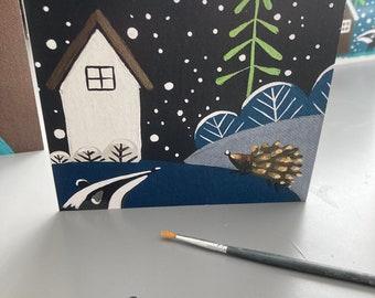 Original Christmas Cards Six Designs
