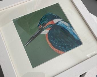 Framed Print Kingfisher