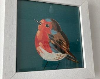 Framed Print Robin
