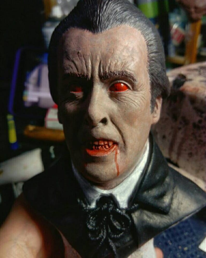 Hammer horror Christopher Lee Dracula