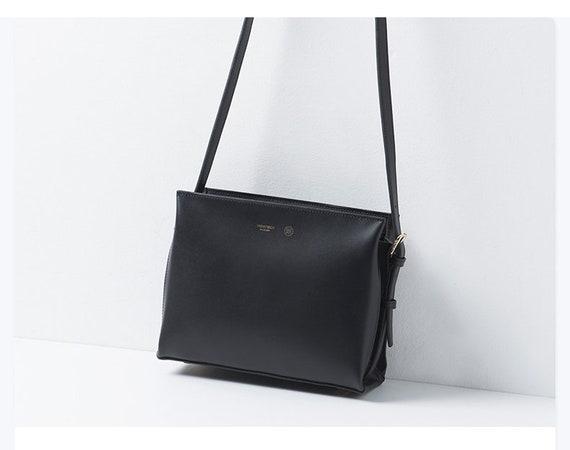 Für UmhängetascheGeldbörseMini Schultertaschen FrauenKleine Handtasche TascheSchwarze Leder Messenger Frauen Tl1cFJK3