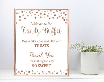 Astonishing Candy Buffet Decor Etsy Home Interior And Landscaping Eliaenasavecom