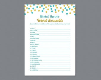bridal shower word scramble game printable aladdin fairytale wedding party game bridal shower games word search blue unscramble a016