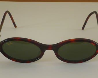 930cfdf796 Original vintage Ray Ban W2974 Tortoise Ladies Polished classic green lens  by Bausch and Lomb
