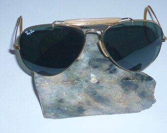 3153c326e0 Vintage Ray Ban Aviator by Bausch and Lomb size 58 14