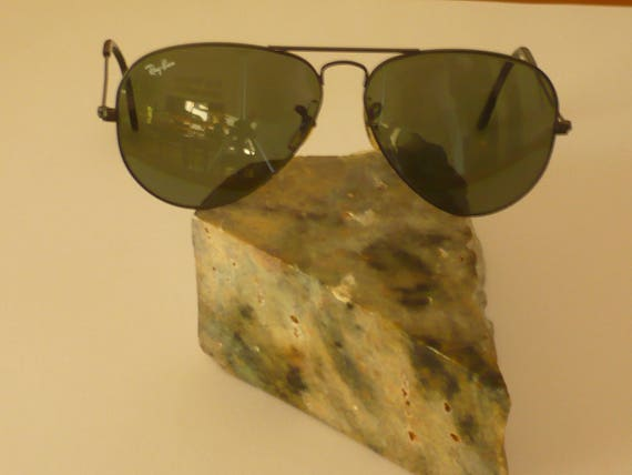 da8cbb9f3d Vintage Ray Ban Aviator by Bausch and Lomb size 58 14