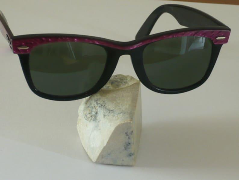90f2ee352c Vintage Ray-Ban Wayfarer purple mosaic Ebony