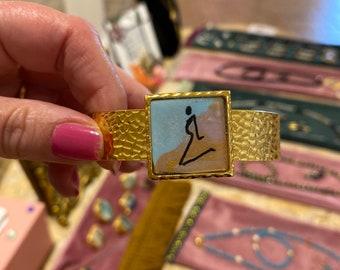 Stunning cuff bracelet