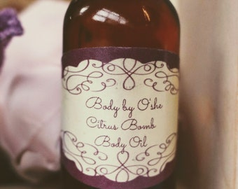 Citrus Bomb Body Oil