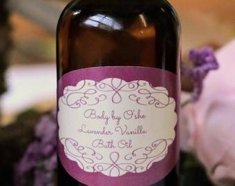 Lavender Vanilla Bath Oil