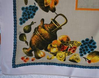 Tablecloth - Retro Harvest Theme