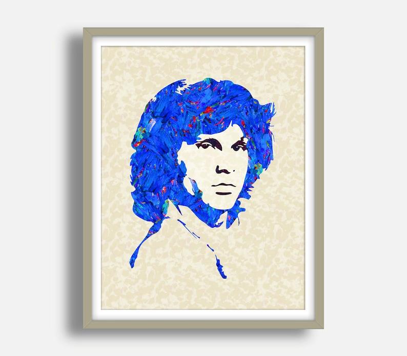 The Doors Art Print Morrison Art Jim Morrison Poster