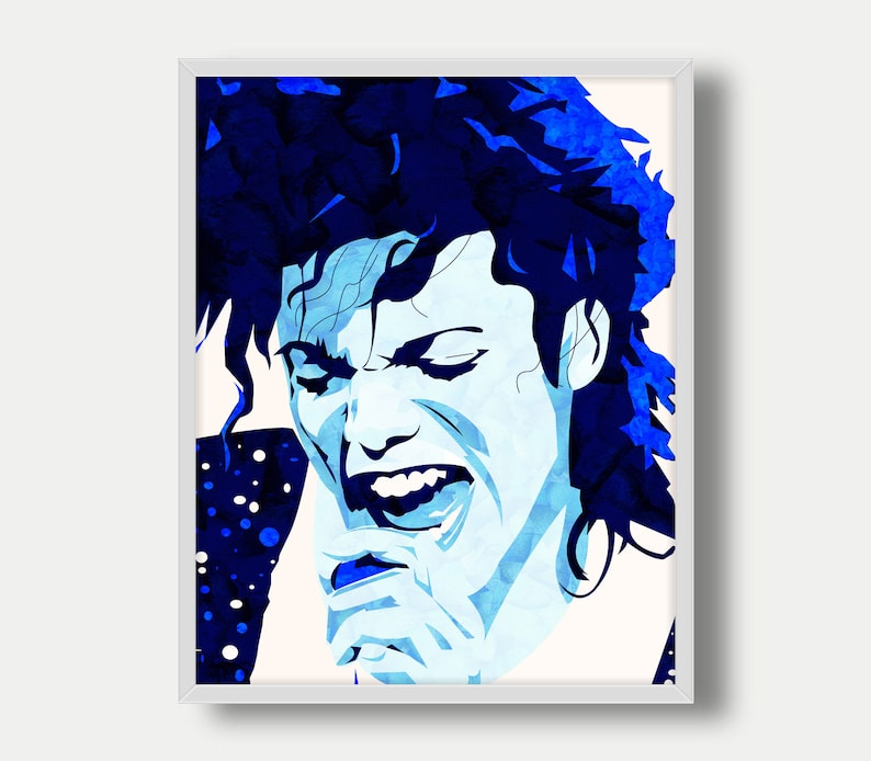 Michael Jackson Printable Michael Jackson Art Pop Music King  57845c327a7c