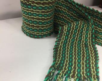 The Field -Traditional Irish Handwoven scarf or sash