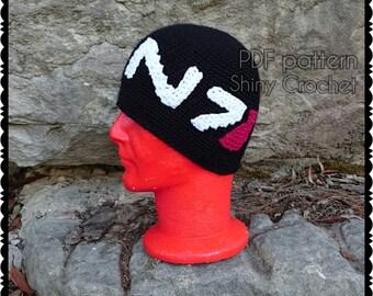 N7 Beanie Crochet Pattern