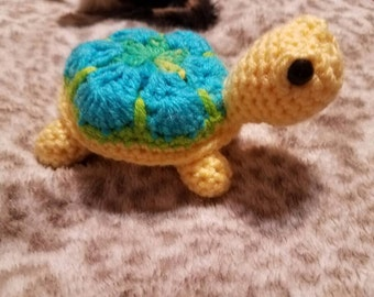 African flower turtle, turtle, amigurumi turtle, turtle toy, gift for turtle lovers, stuffed turtle,  turtle, Christmas gift, birthday gift