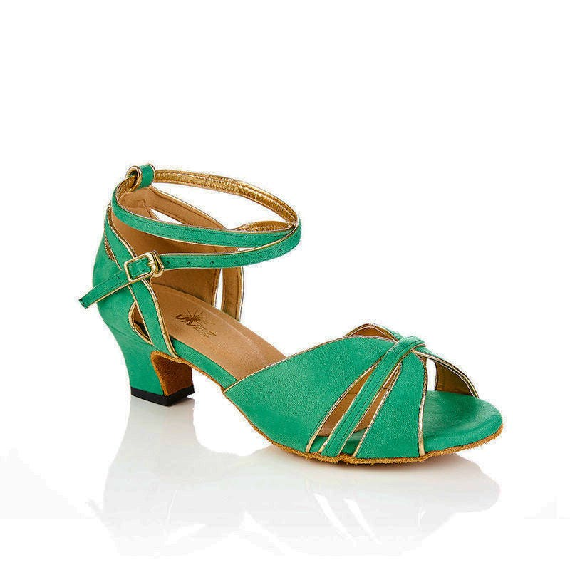 Retro Green Swing, latin, rock n roll Jive, dance shoes - Swing, Jive, roll Salsa, ballroom, Latin, Bridal 0f8a70