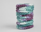 Facial Pads, Reusable Makeup Pads, Washable, Eco-friendly gifts, Purple, Green, Bathroom products