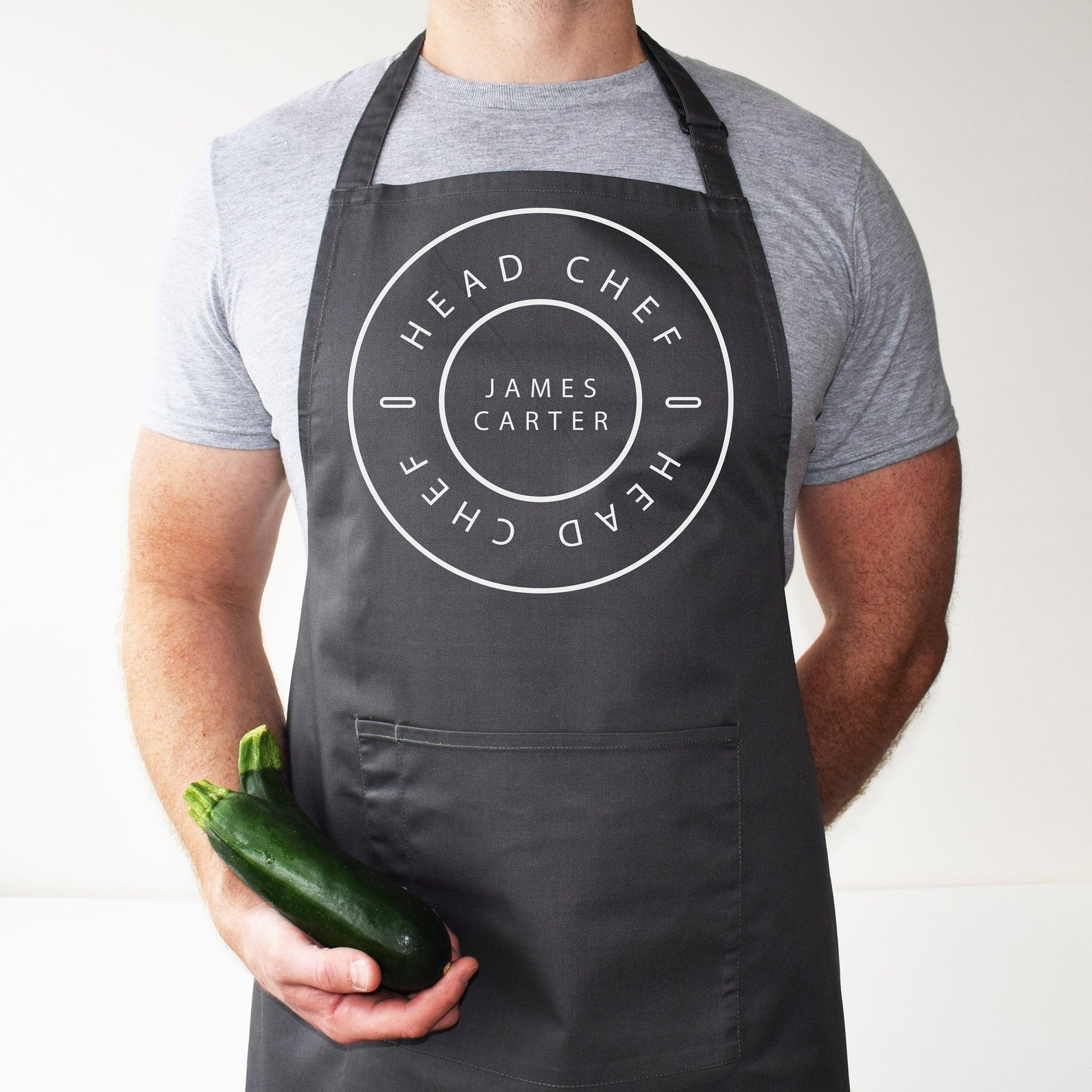 Minimalist Head Chef Apron
