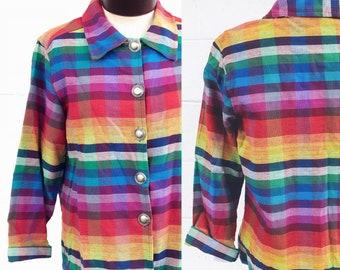 Vintage rainbow blazer